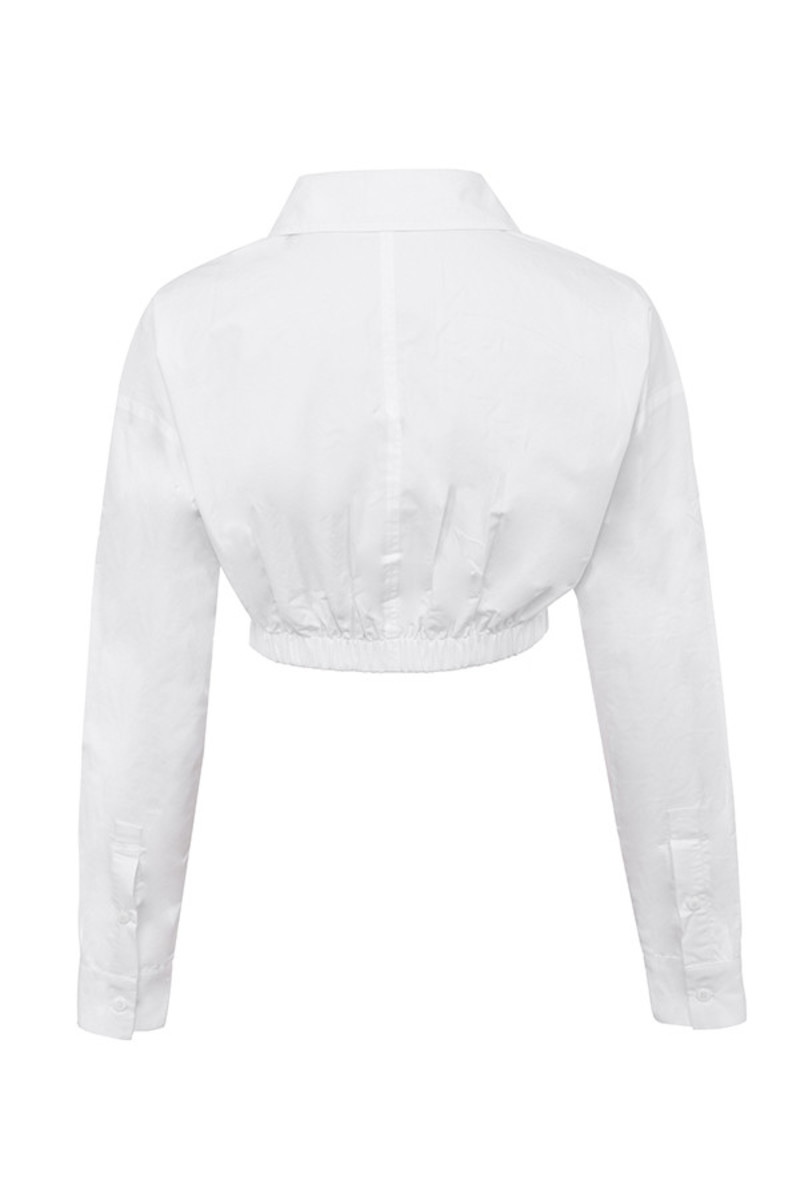 temptation top in white