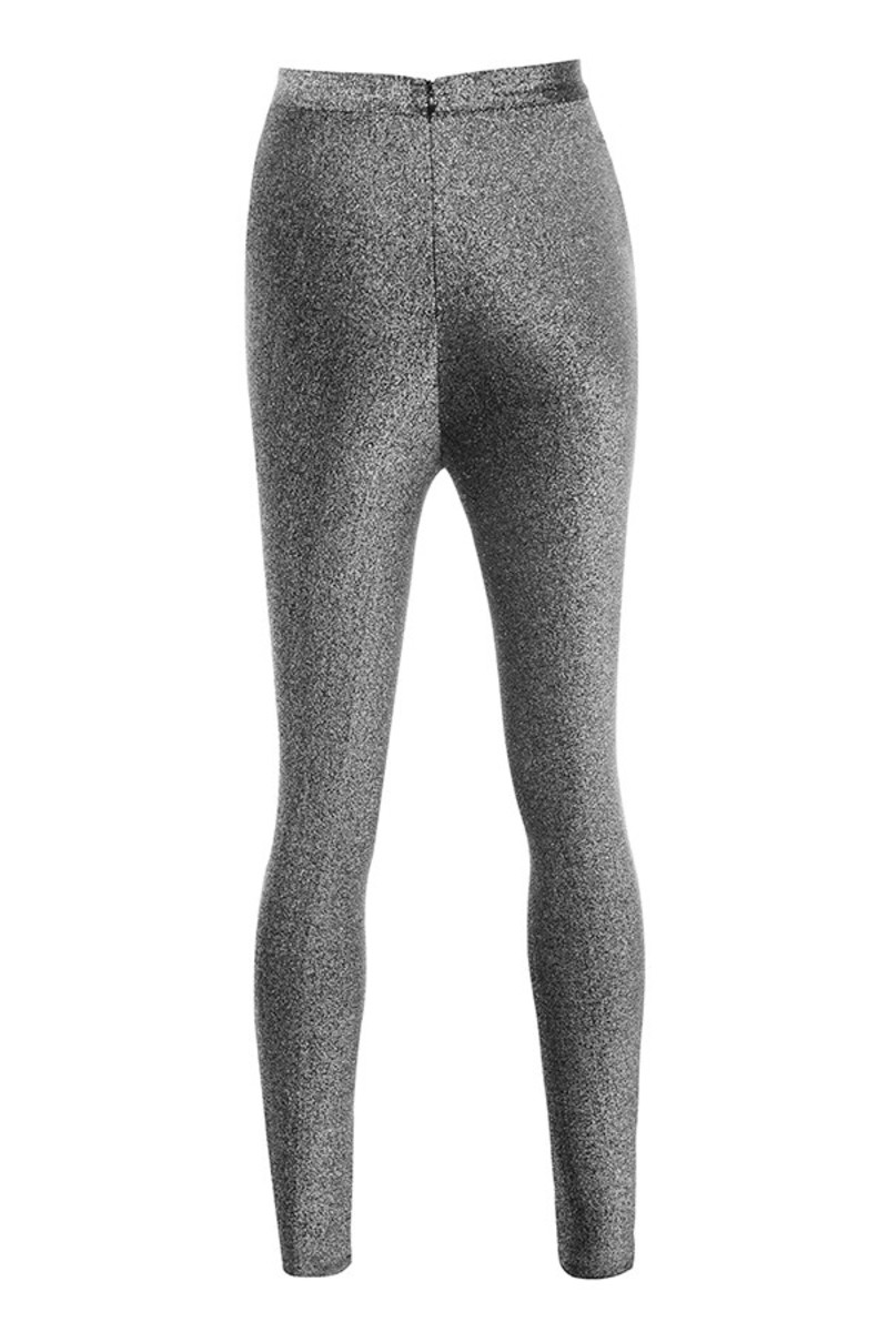 waternymph leggings in silver