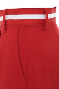 red tenacity trousers