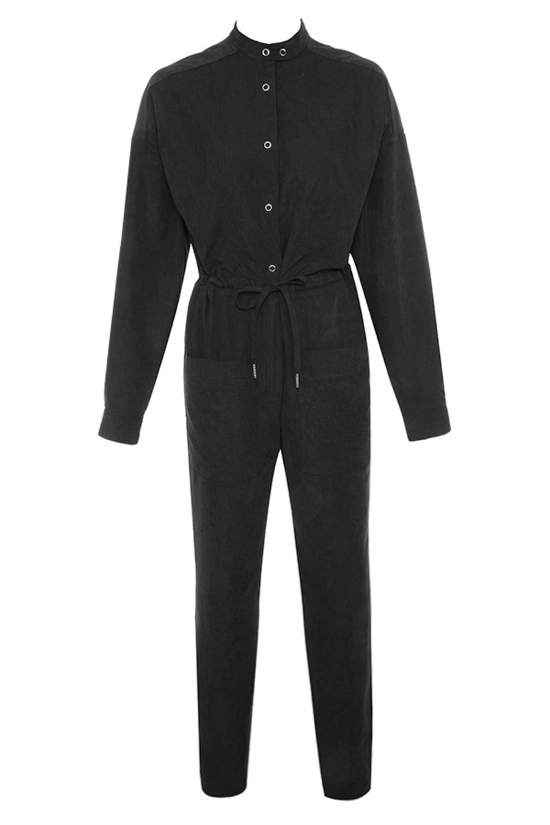 high road in black jumpsuit