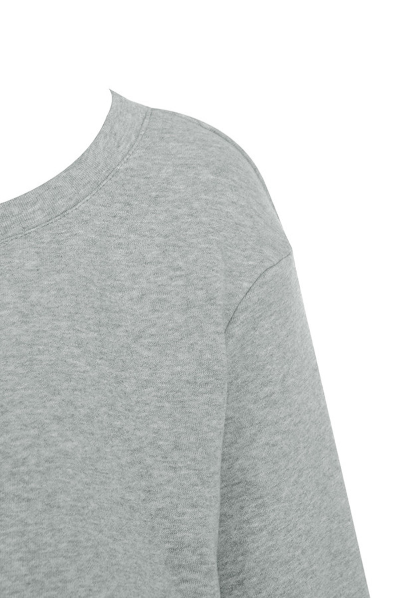 distress top in grey