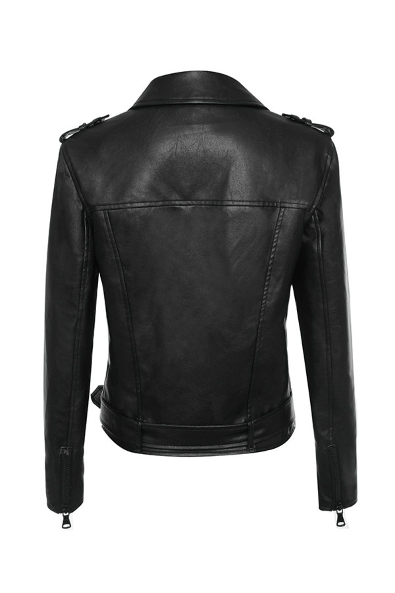 enamoured jacket in black