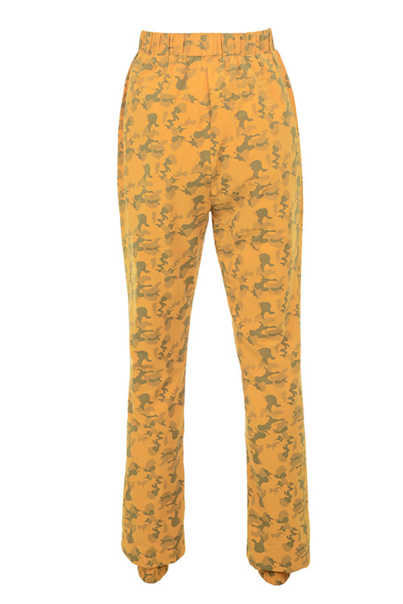 gradient trousers in camo