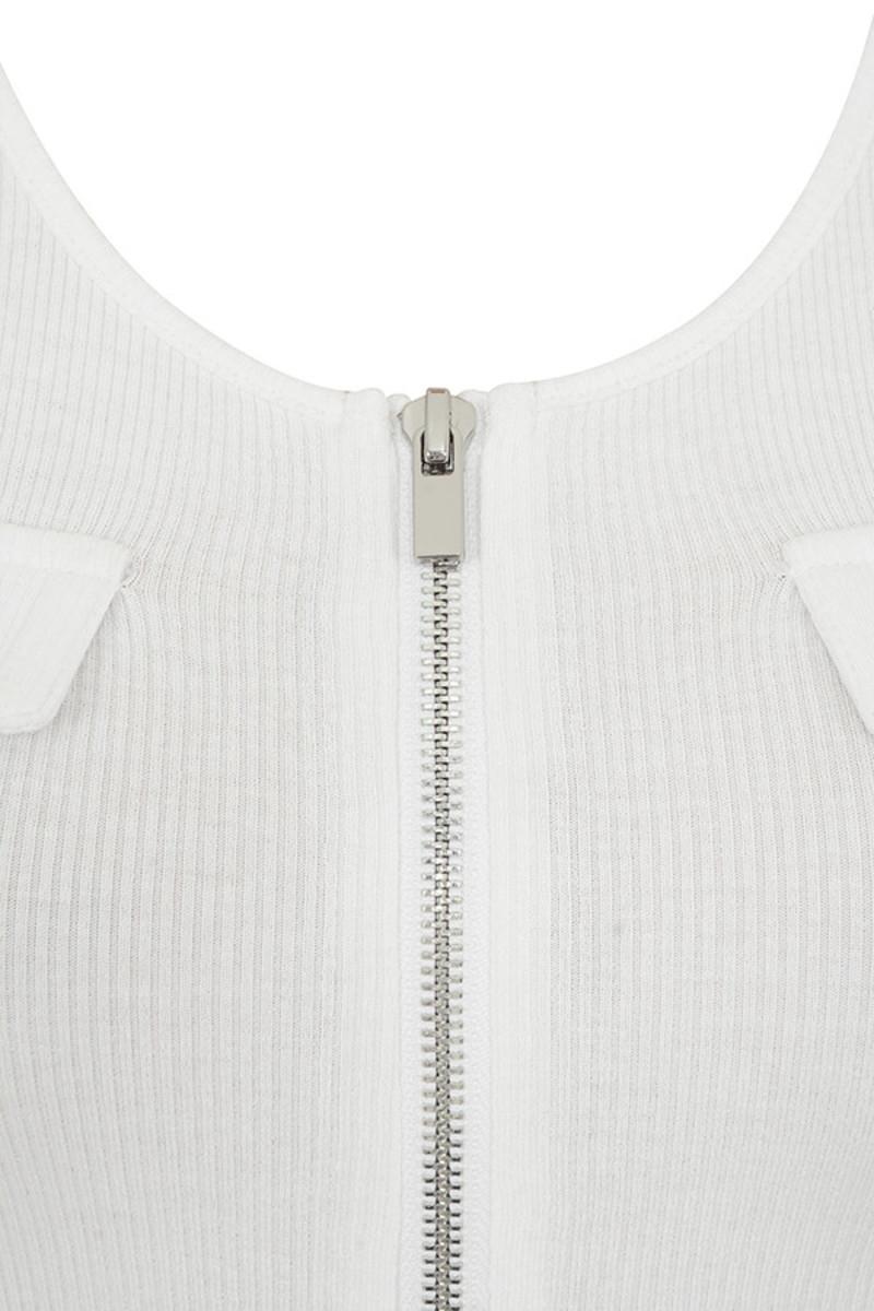 white gryphon bodysuit