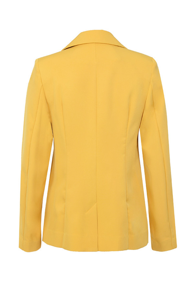 joyous jacket in yellow