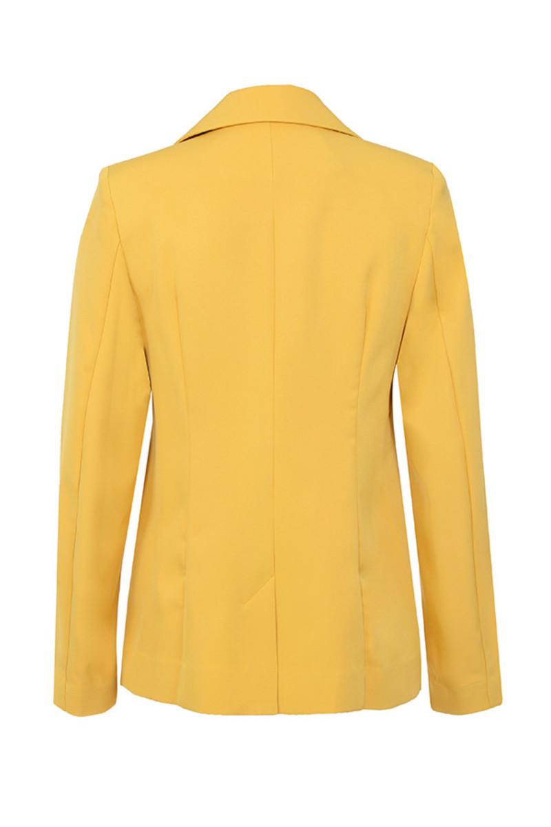 joyous jacket in yellow