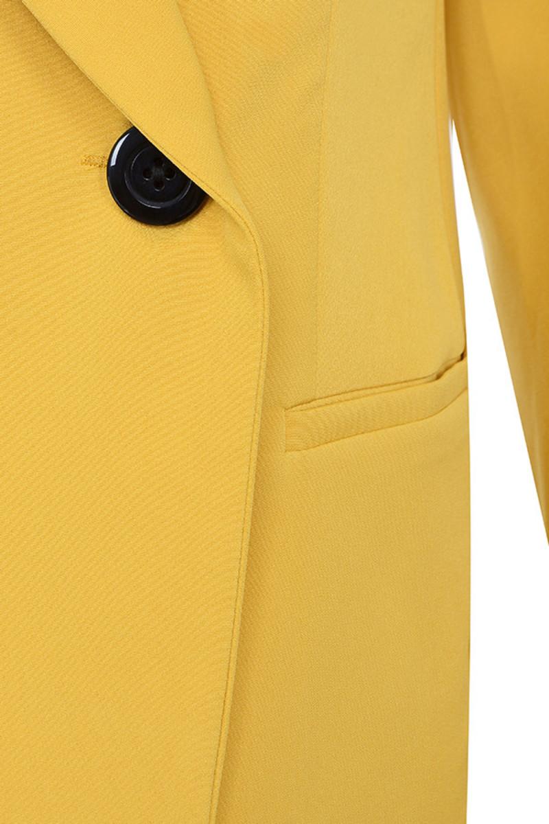 yellow joyous jacket