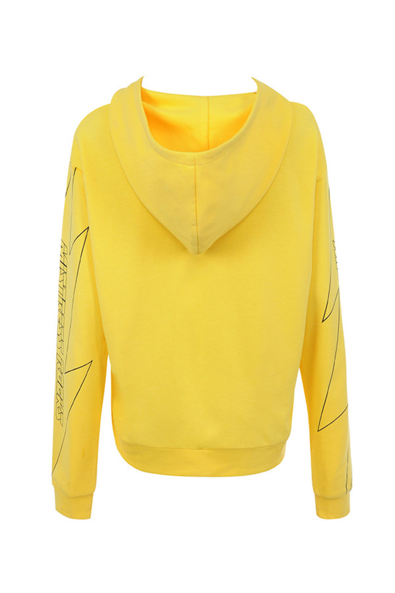 king pin jacket in yellow