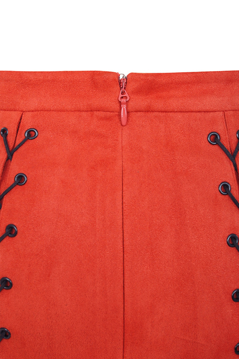 red liberty skirt