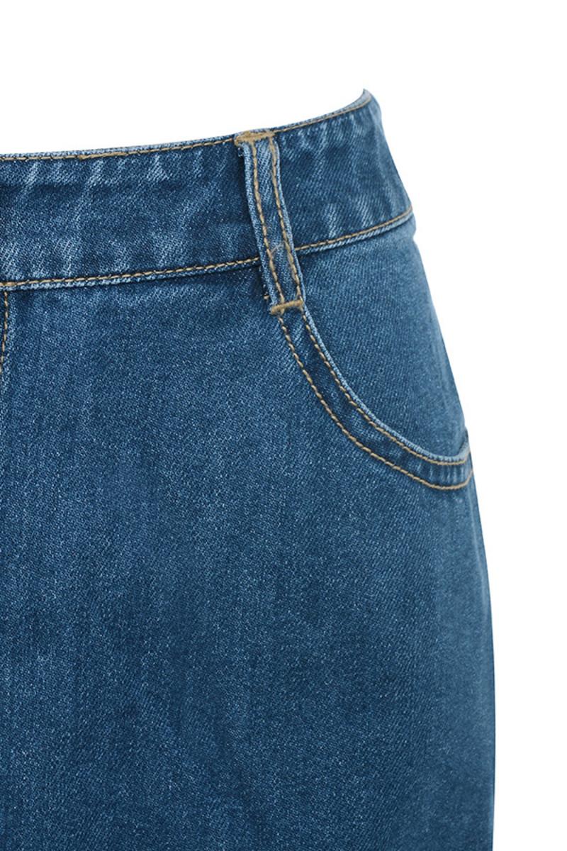 blue mystery skirt