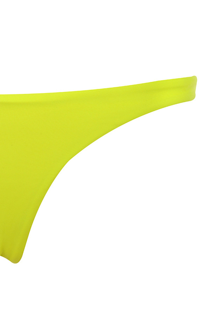 neon green rangoon bikini