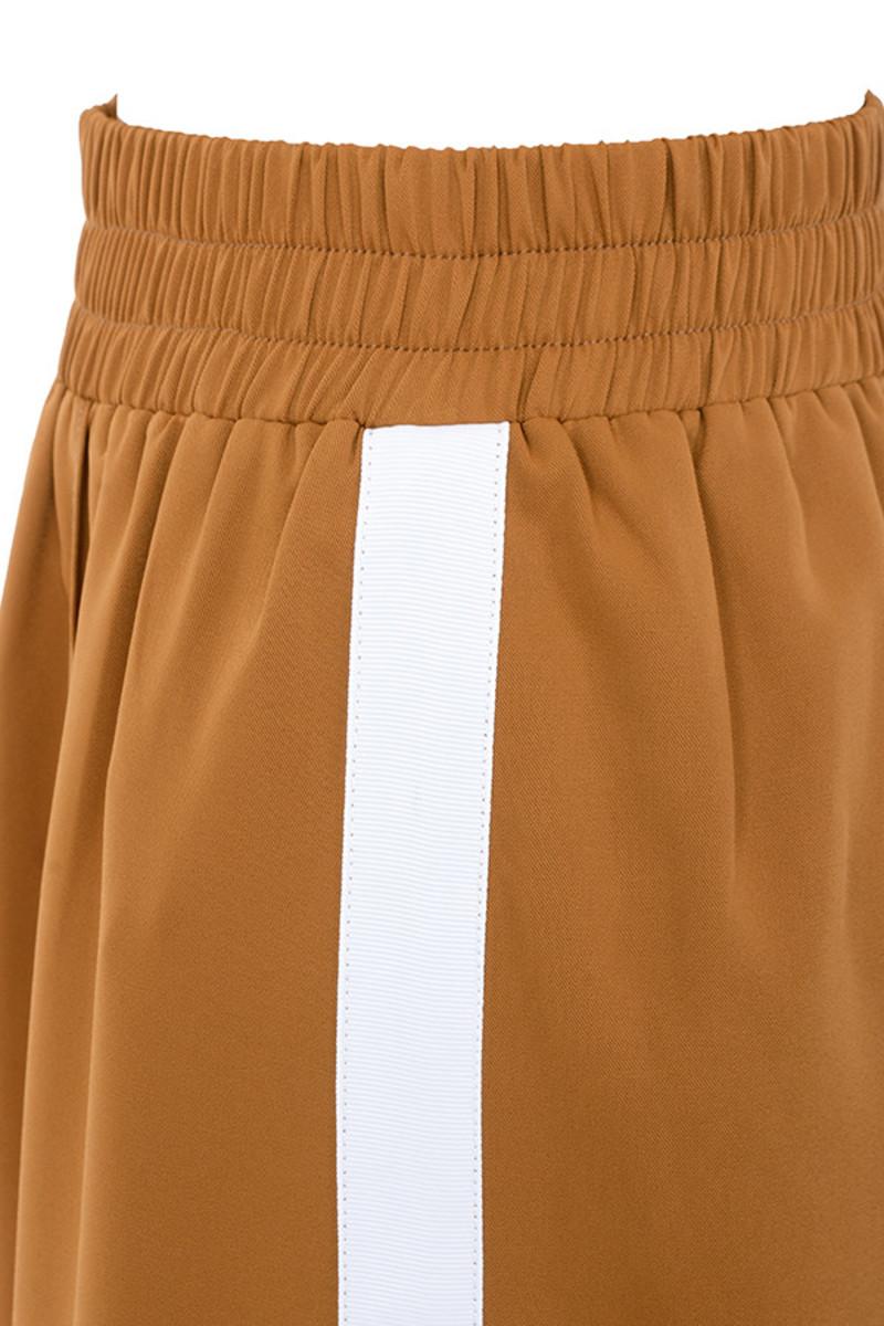 tan savvy trousers