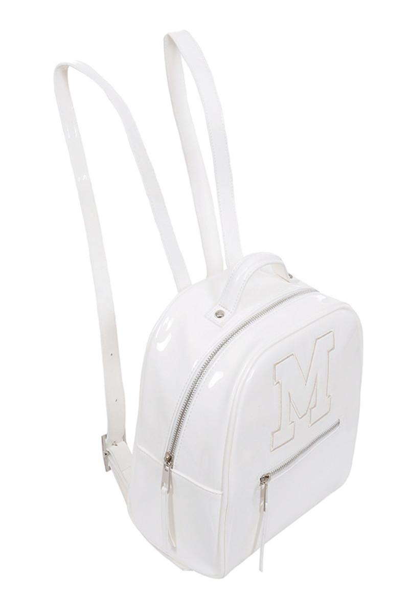 snap bag in white