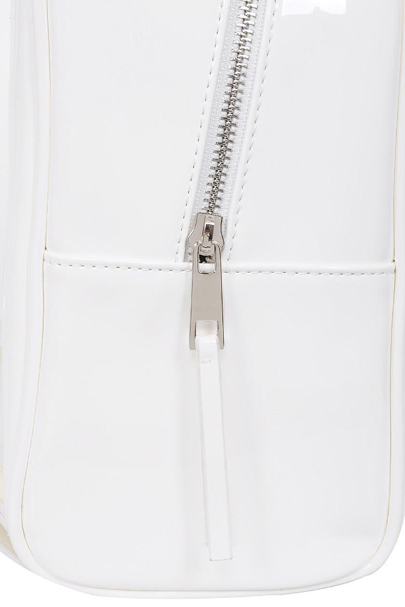 snap white bag