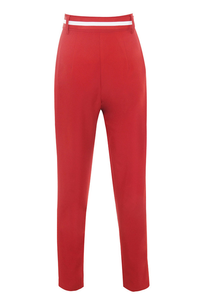tenacity trousers in red