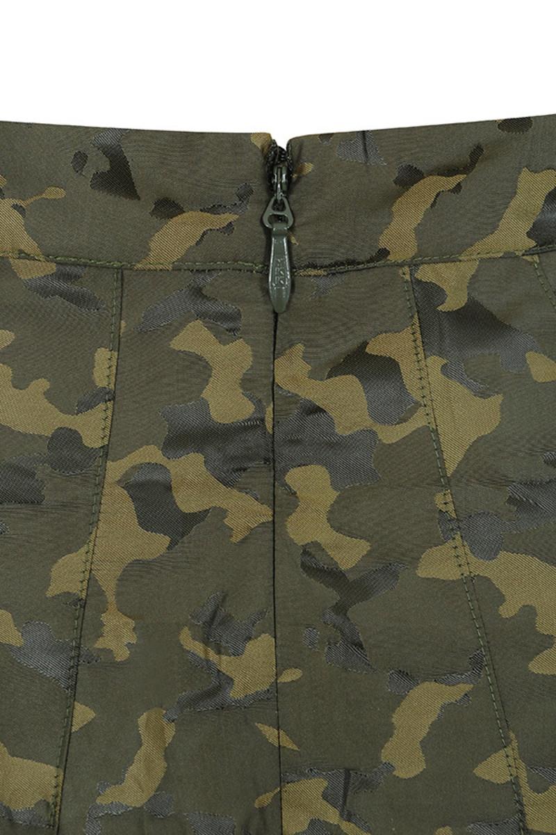 khaki vice skirt