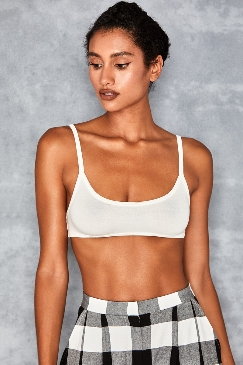 Beaut Cream Extreme Crop Bralette