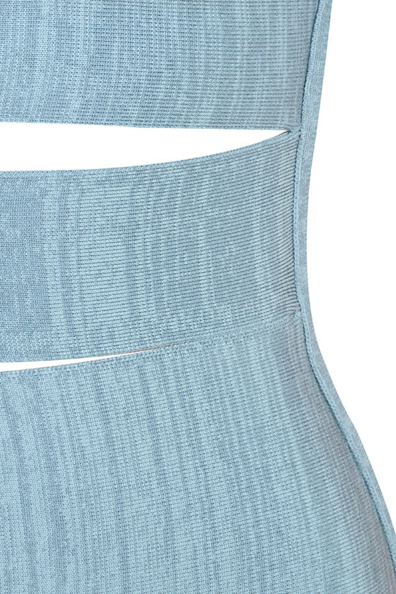 blue carousel dress