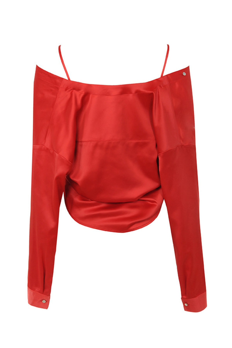 control top in red