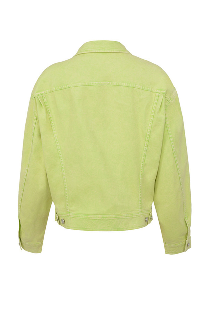 fathom jacket in green