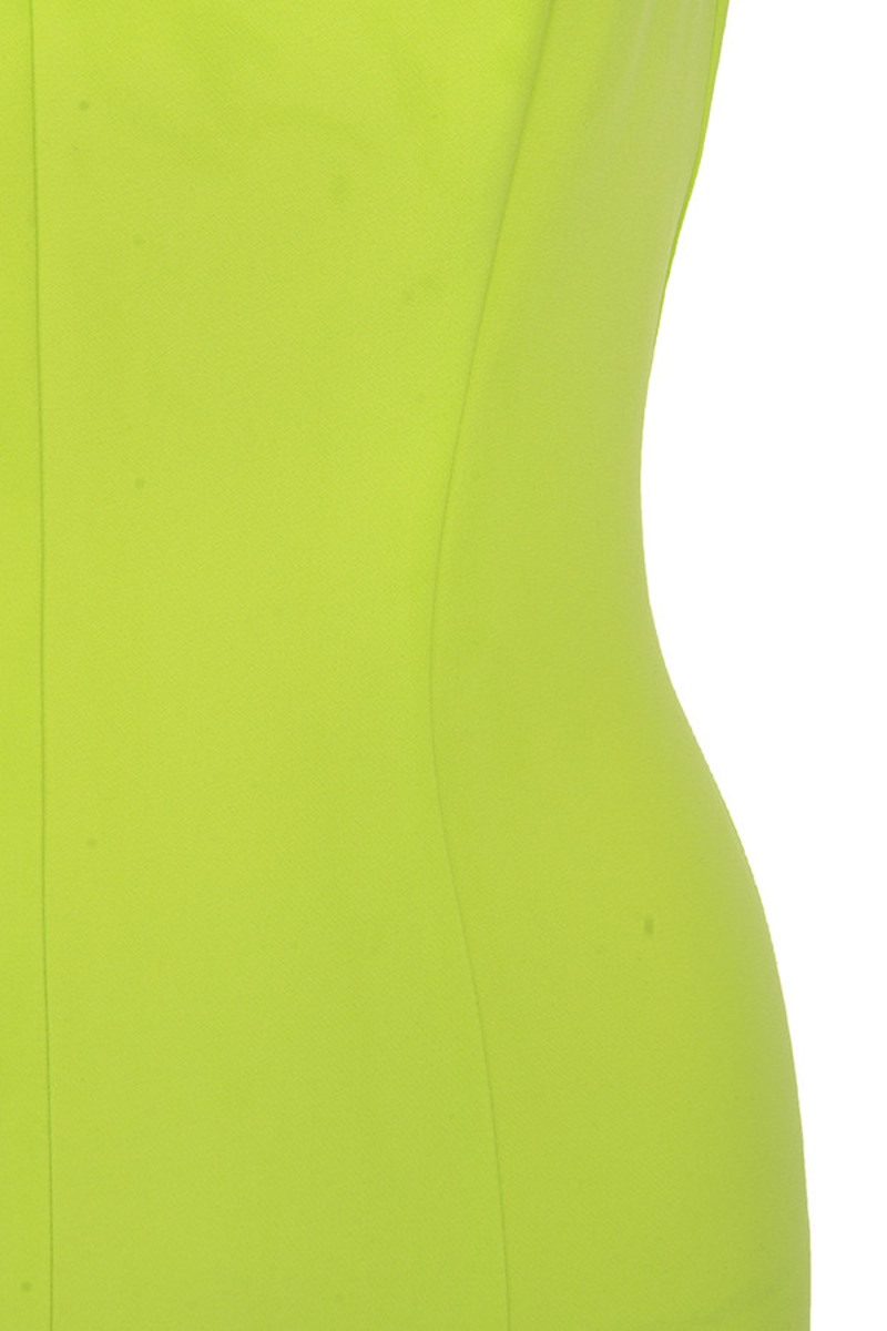 lime memory dress
