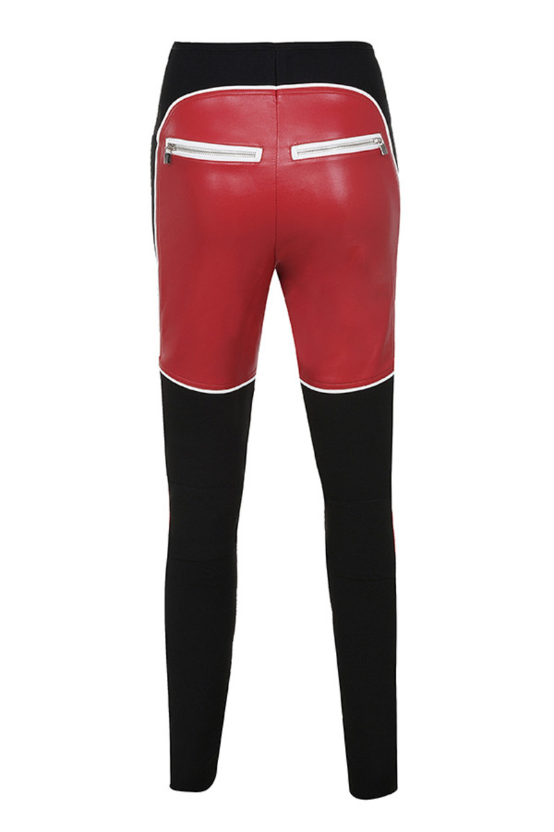 philosopy trousers in red