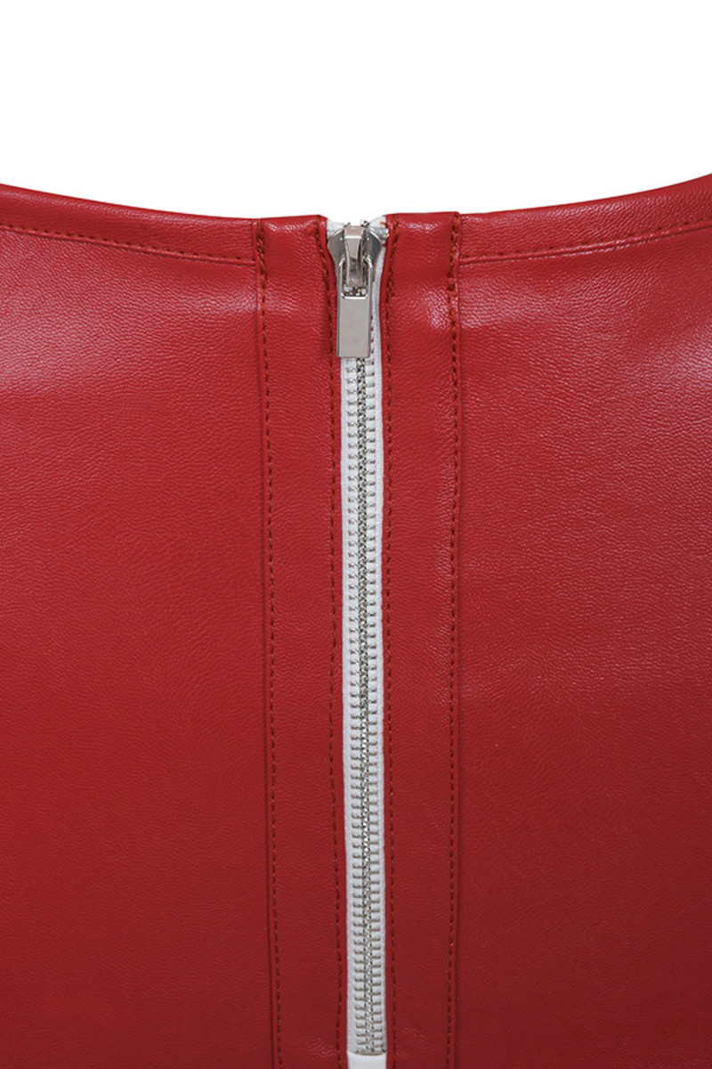 red philosopy trousers